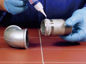 Чем герметизировать соединение газовой трубы?
